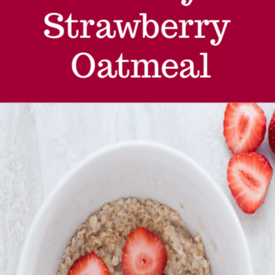 Creamy Strawberry Oatmeal