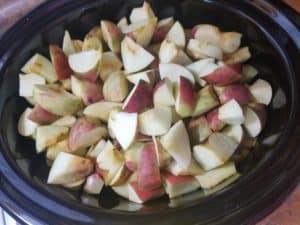 homemade crock pot apple butter