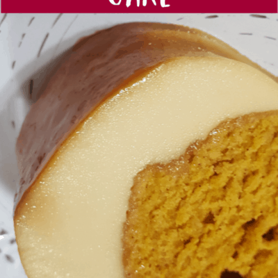 Magic Pumpkin Spice Cake
