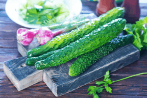 best types of cucumbers to grow, slicing cucumbers, persian cucumbers