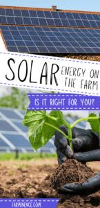 solar power on farm, using solar panels on farm and homestead to go off grid