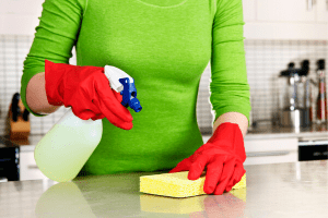homemade sanitizer spray